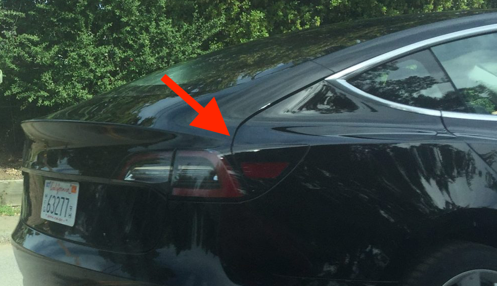 Tesla Model 3 photos seem to show release candidate's