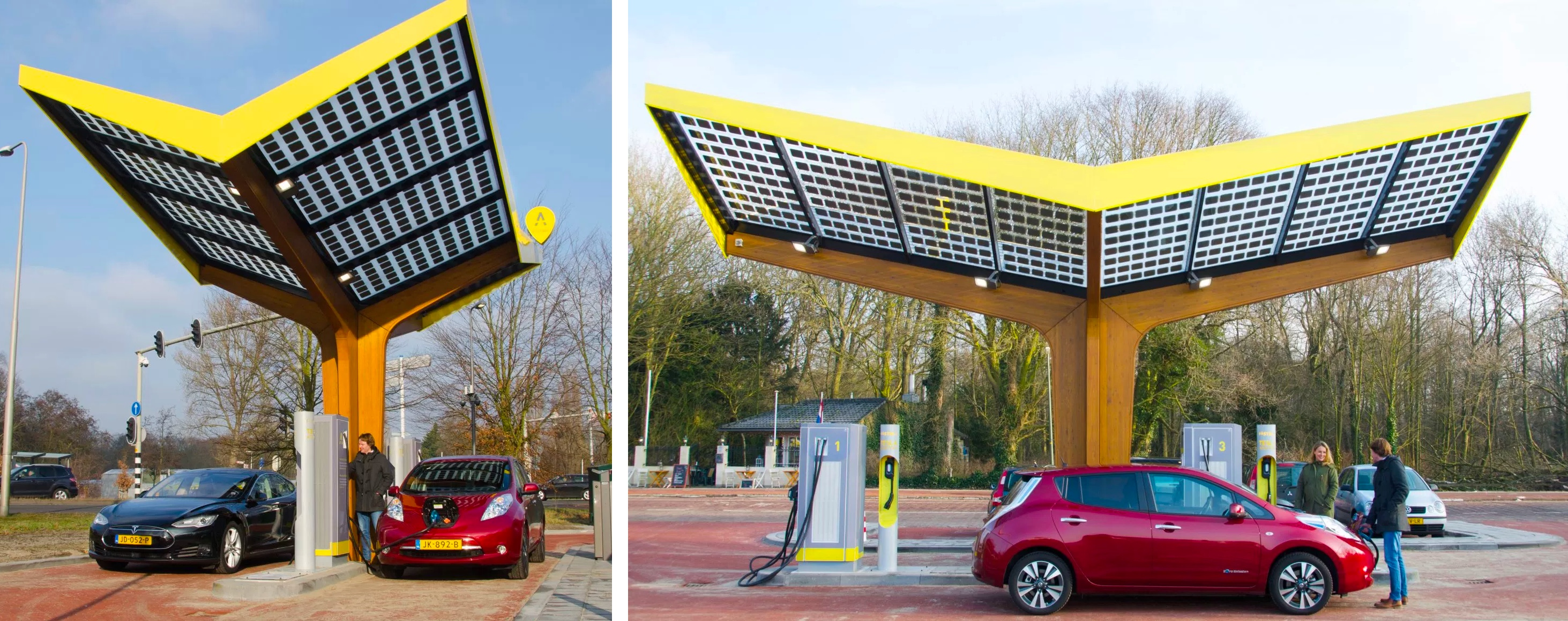 Fastned Unveils New Ev Charging Stations Expands To