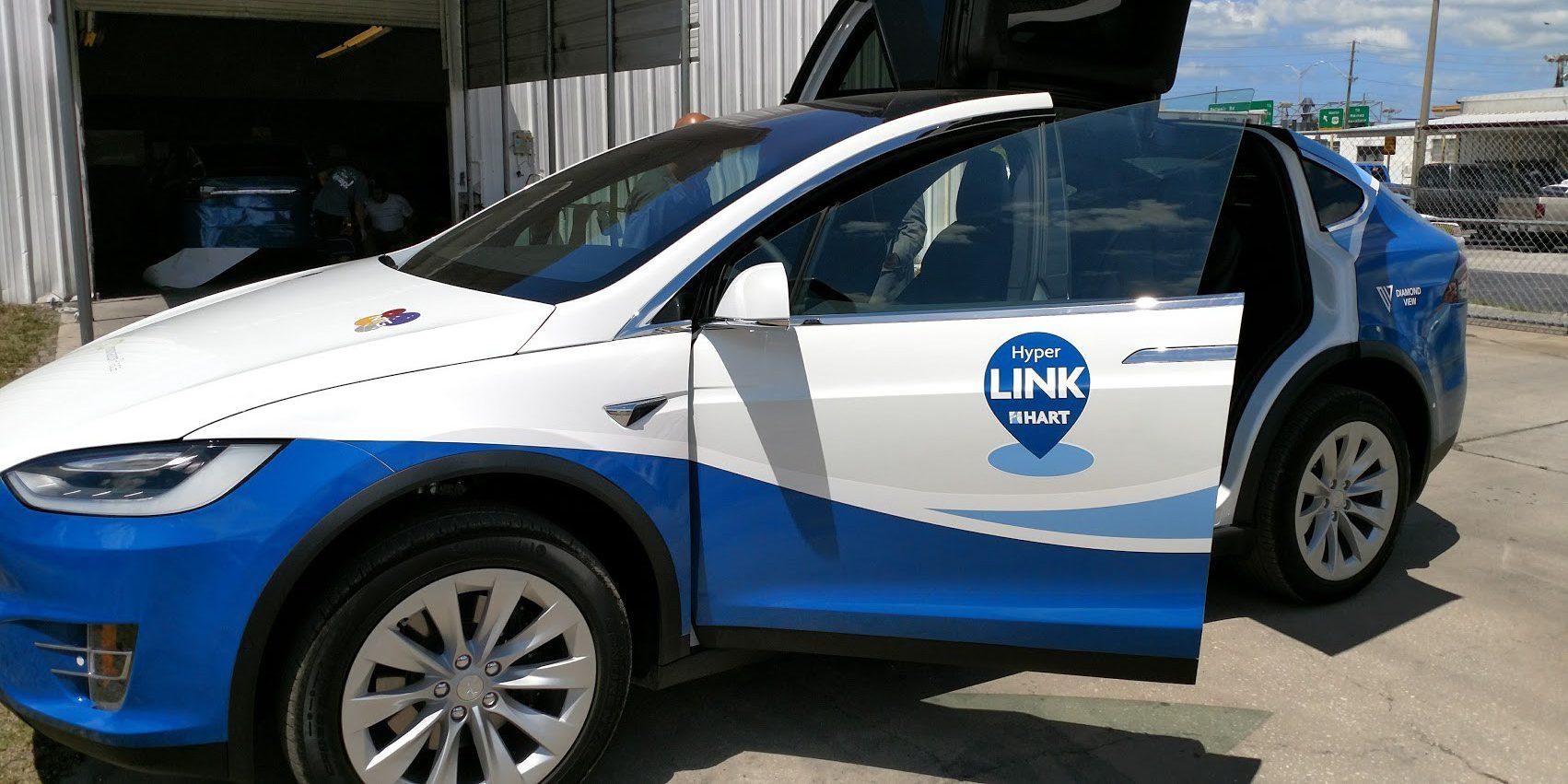 4 Tesla Model X Suvs Delivered To Transit Agency To Test A