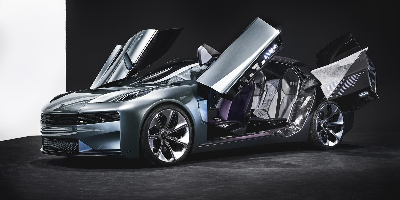 Volvo Based Electric Sedan Concept Unveiled By Geely S Lynk Co Electrek