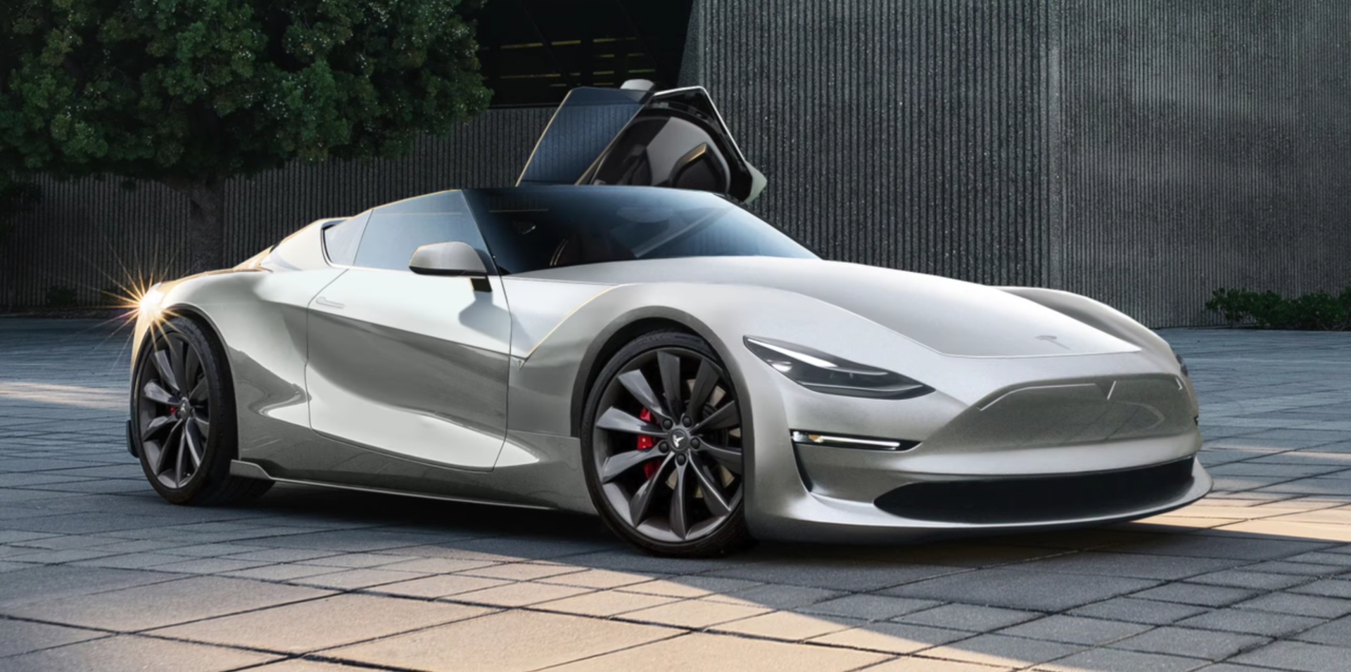 Tesla next-gen Roadster: unofficial render tries to ...
