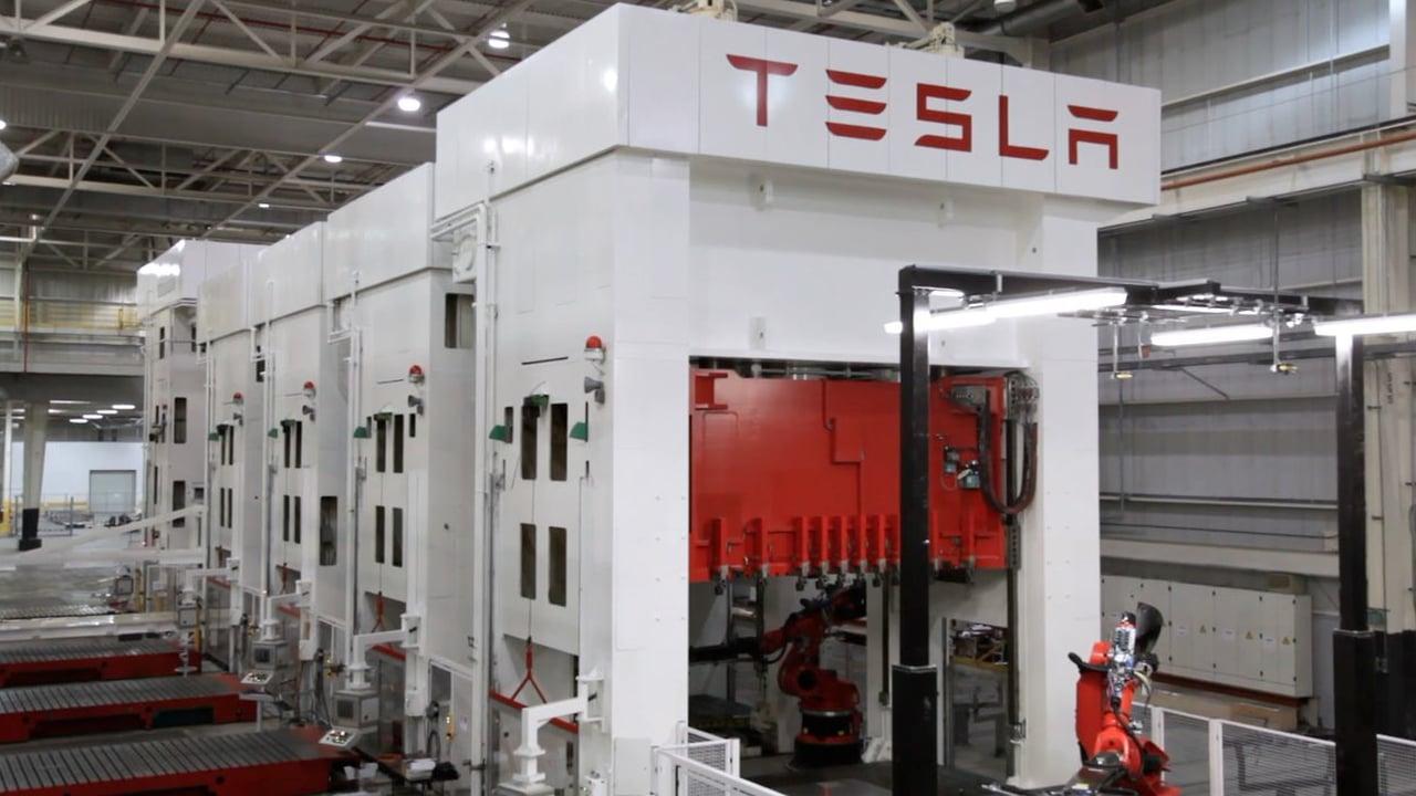 Tesla Model 3 New Building Permits Show Production Line