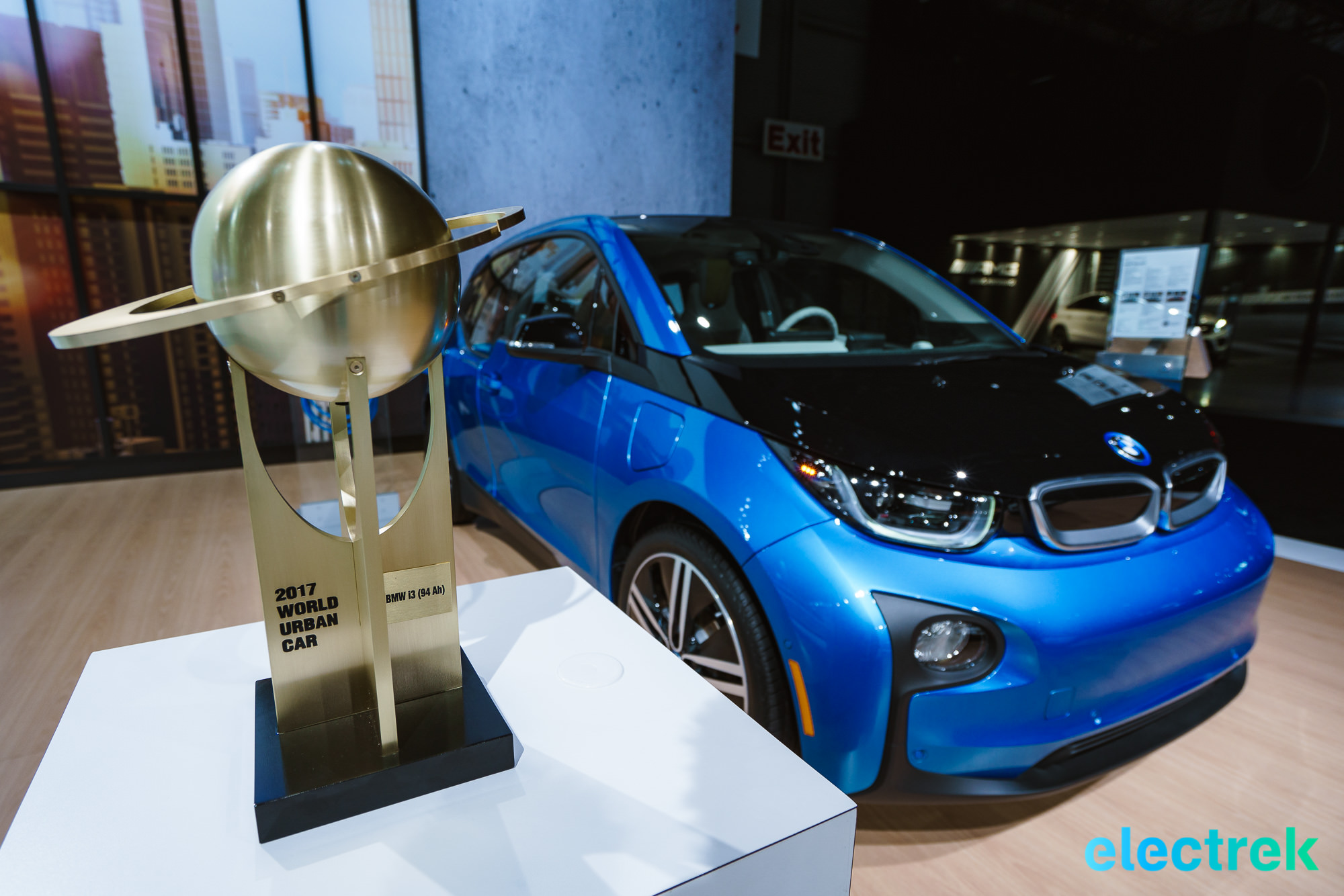 BMW i3 wins the 2017 award-you-never-heard-off