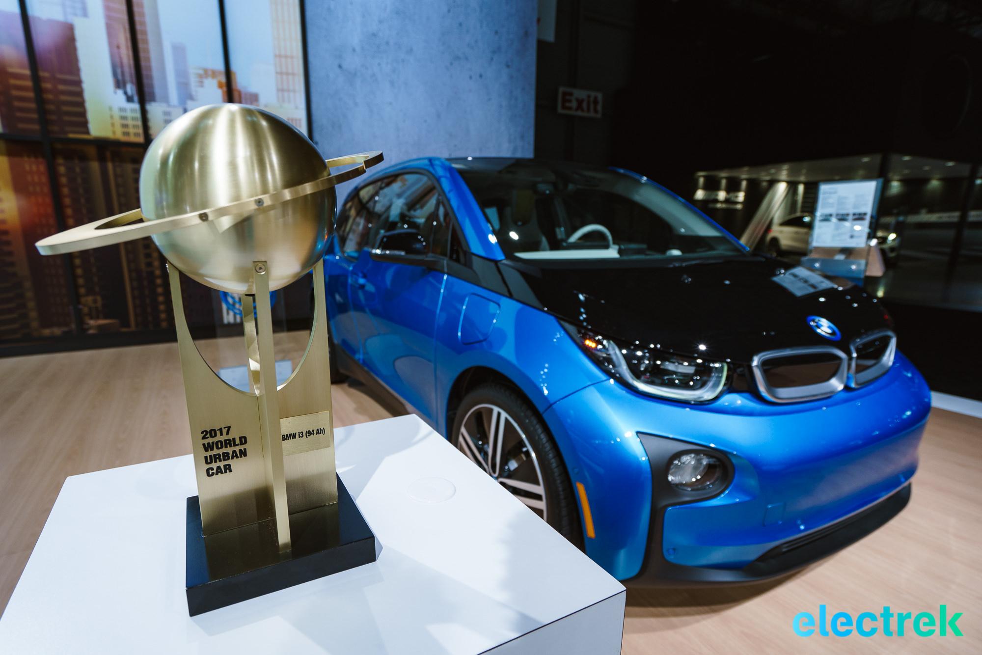 BMW i3 wins the 2017 award-you-never-heard-off