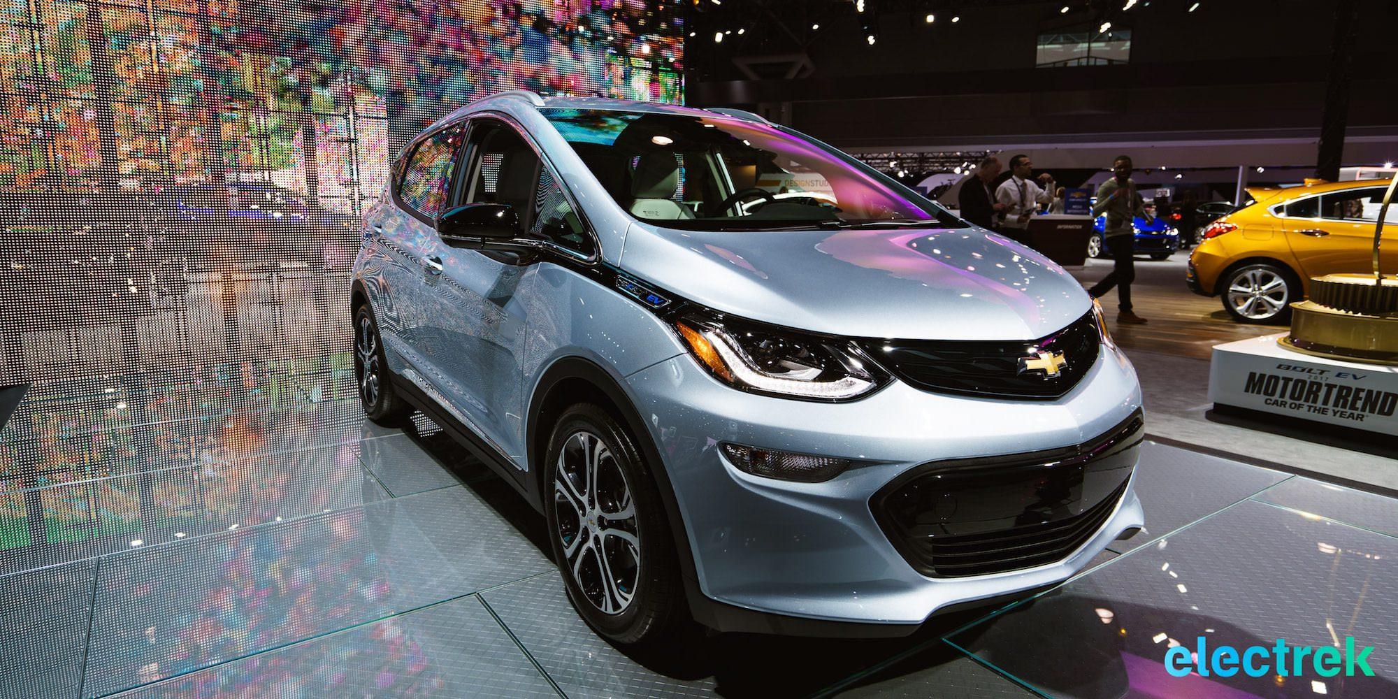 Chevrolet bolt colors