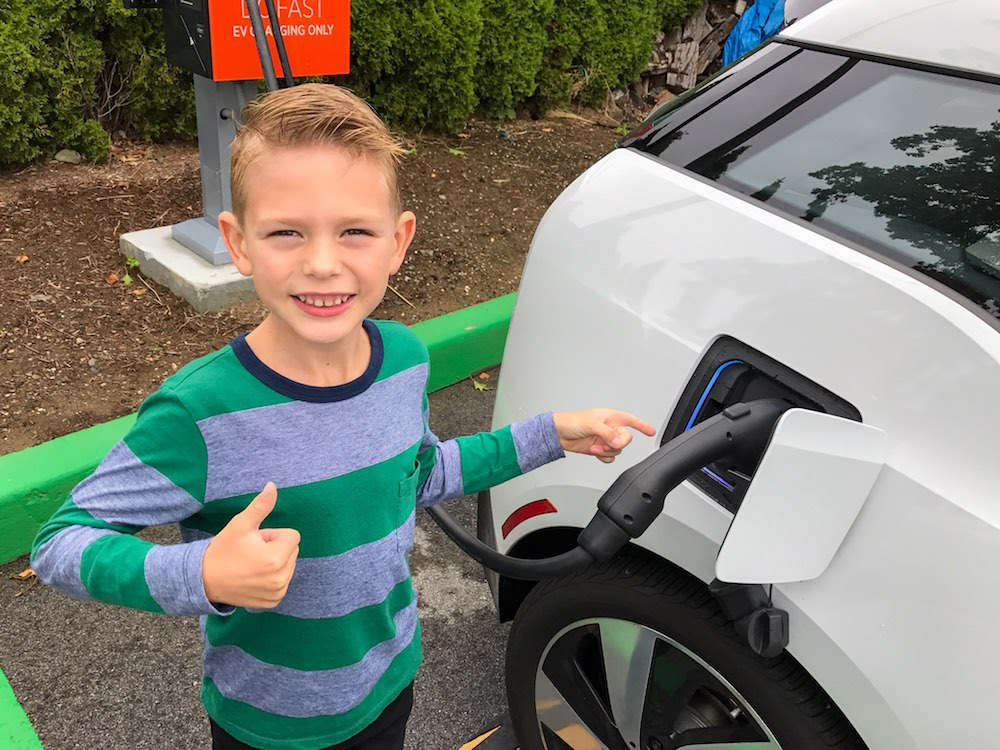 Electric BMW i3 is approved by future driver.