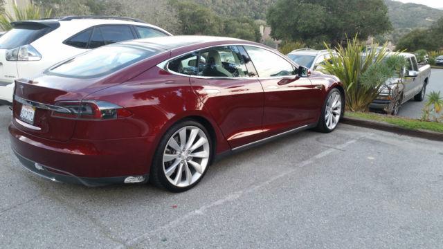 Tesla signature red