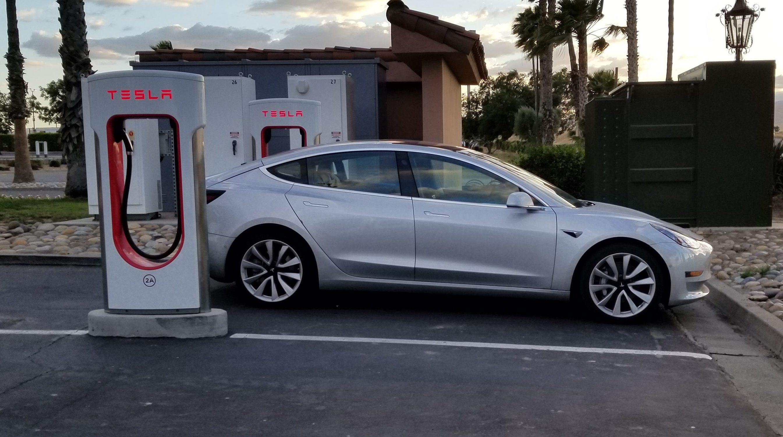Tesla charge range