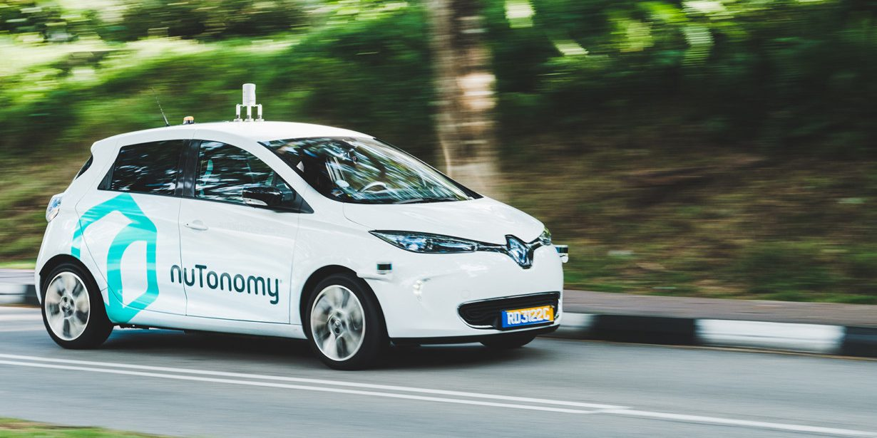 Lyft And Nutonomy Are Deploying A Fleet Of Self Driving Electric Cars In The Us