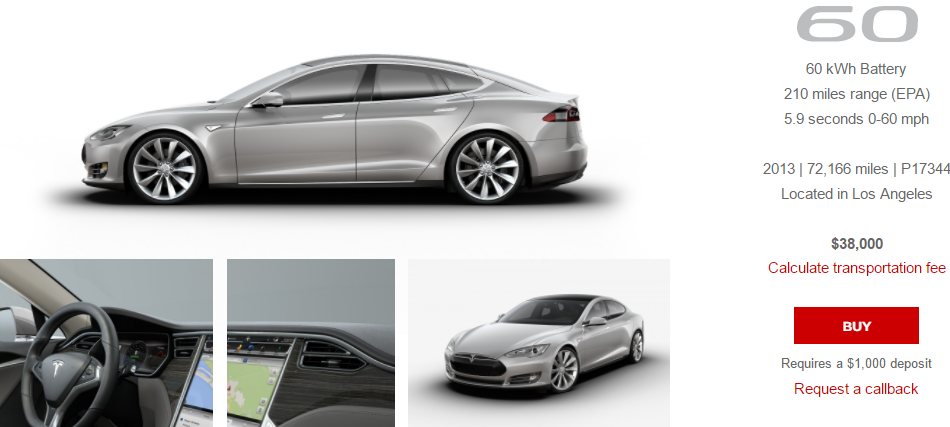 Tesla S New Batches Of Used Cars Are Selling Ludicrously Fast Electrek