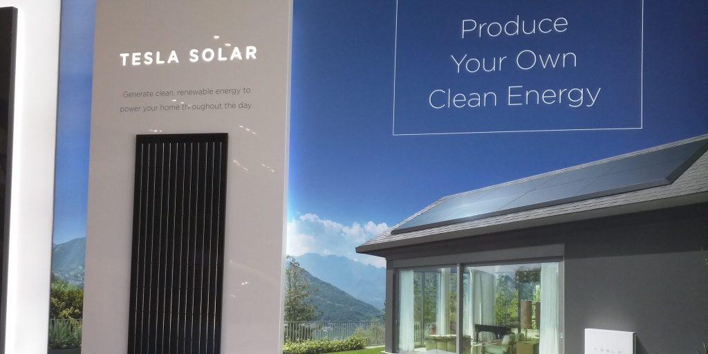 Tesla Starts Displaying New Tesla Solar Branded Solar