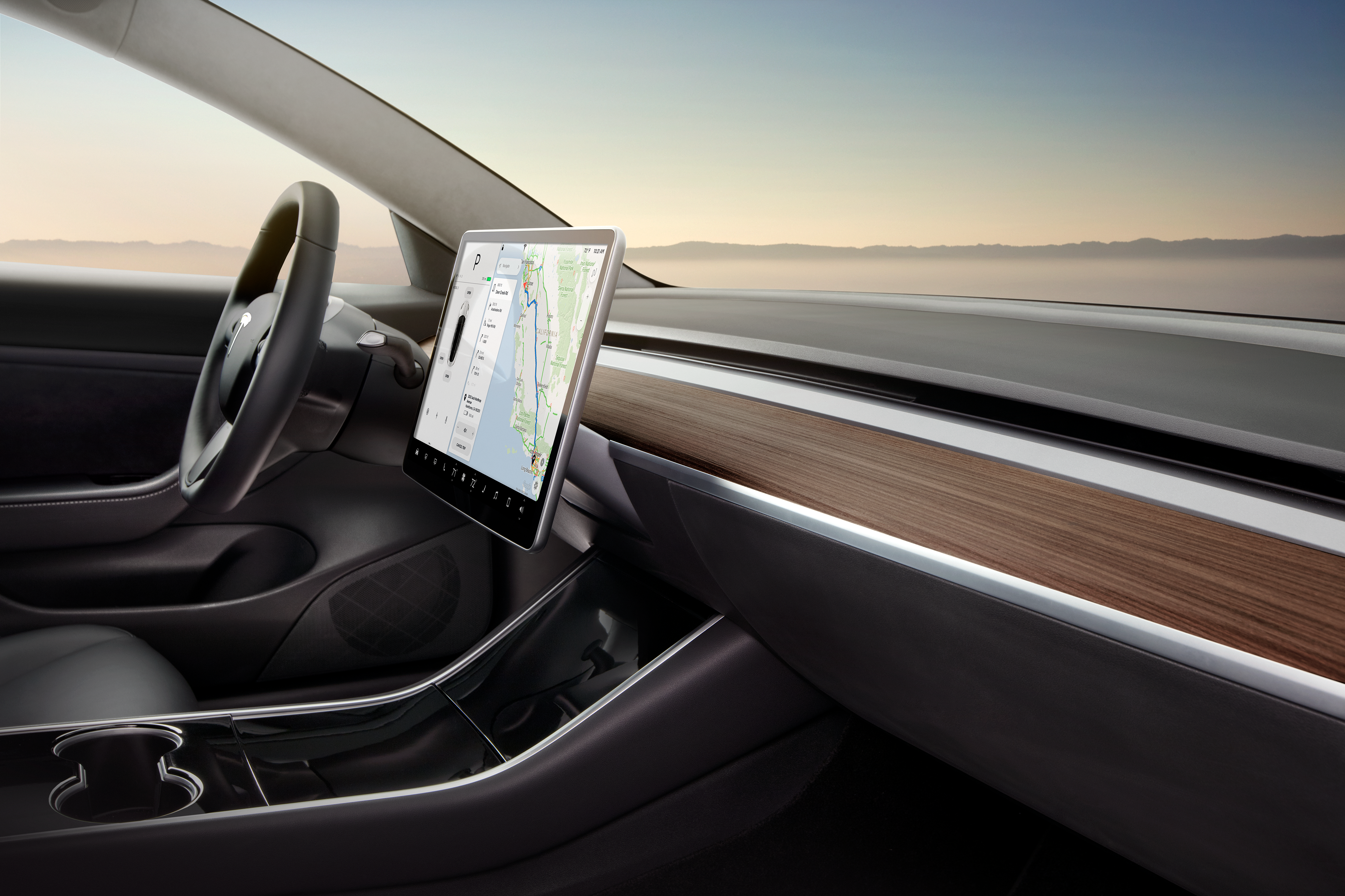 Tesla Model 3's interior is a smart design that will 'age ...