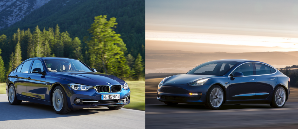 Tesla Model 3 vs BMW 3 Series: how pricing and options ...