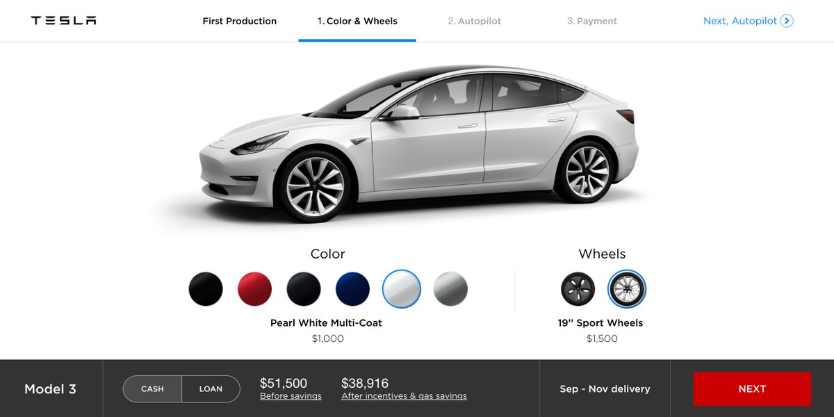 Tesla Speople Are Telling Model 3 Reservation Holders That 7 500 Federal Tax Credit Runs Out In 2017