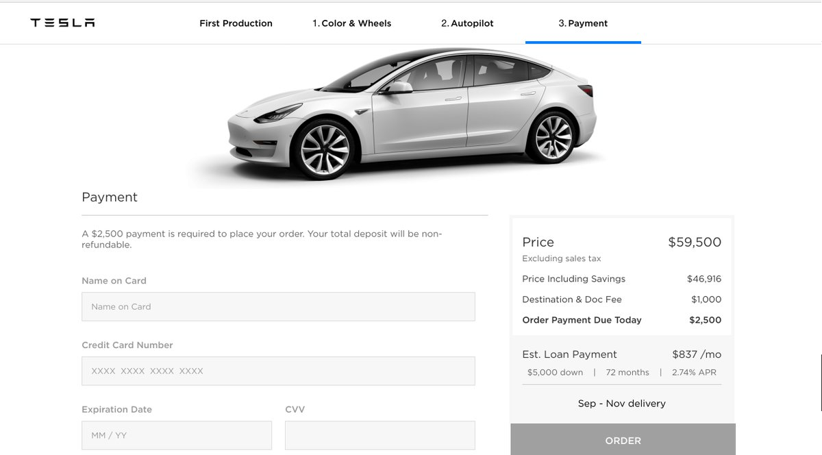 Those Requirements Are To Simplify Tesla S