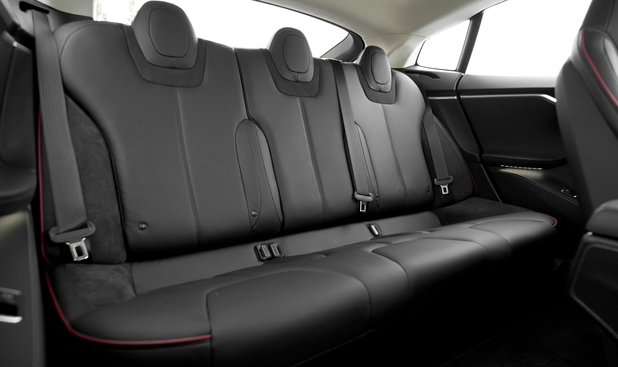 Tesla Updates Model S Interior With New Back Seats
