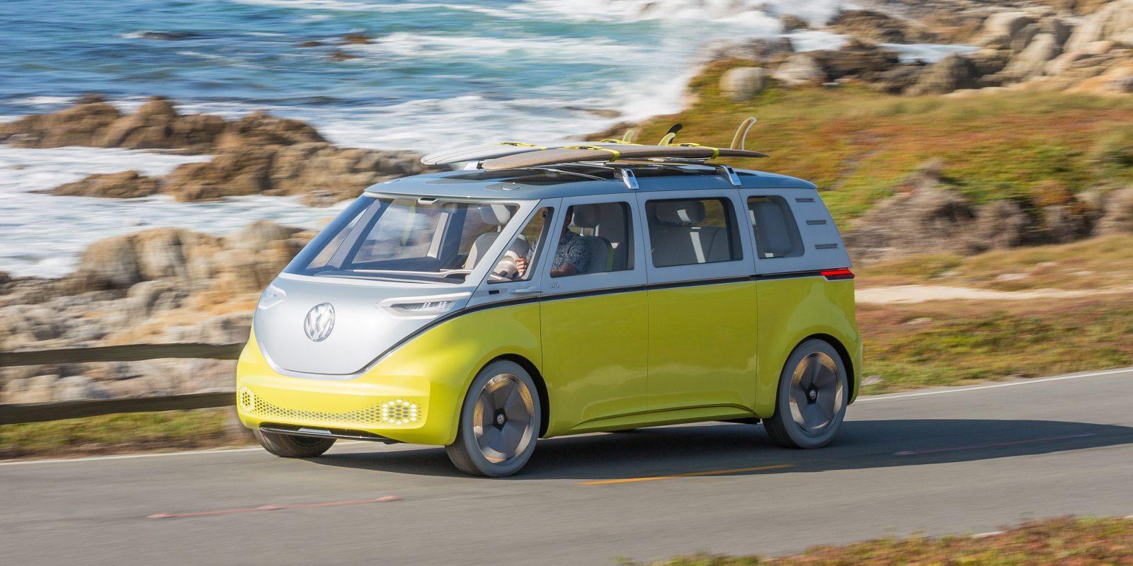 vw announces    bringing   electric microbus  production   electrek
