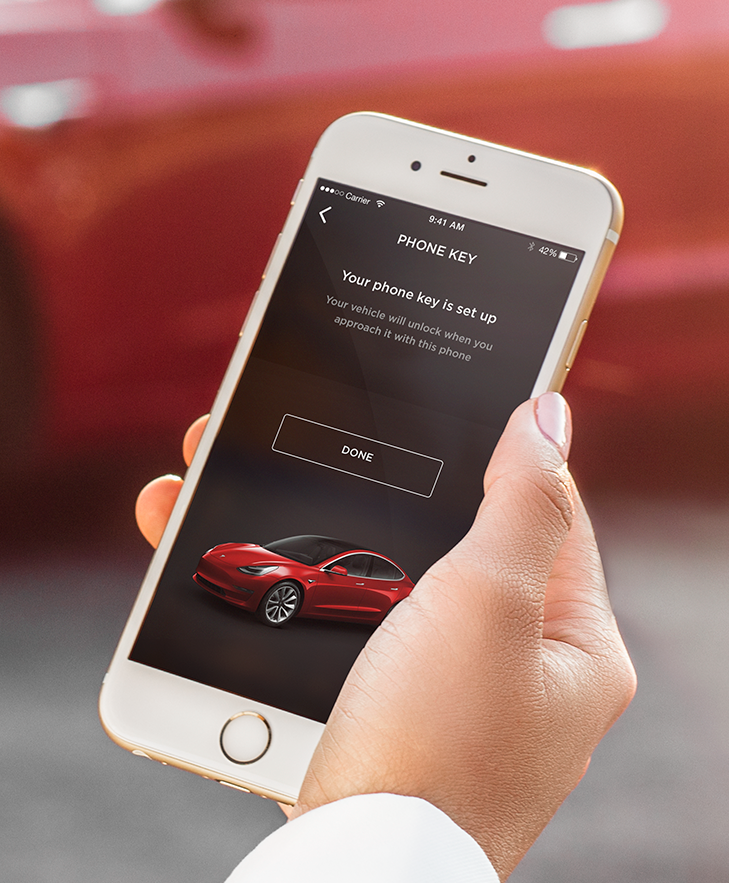 Tesla Model 3 Wallpaper Iphone: Tesla Releases New Model 3 Pictures To Show Its Key Card