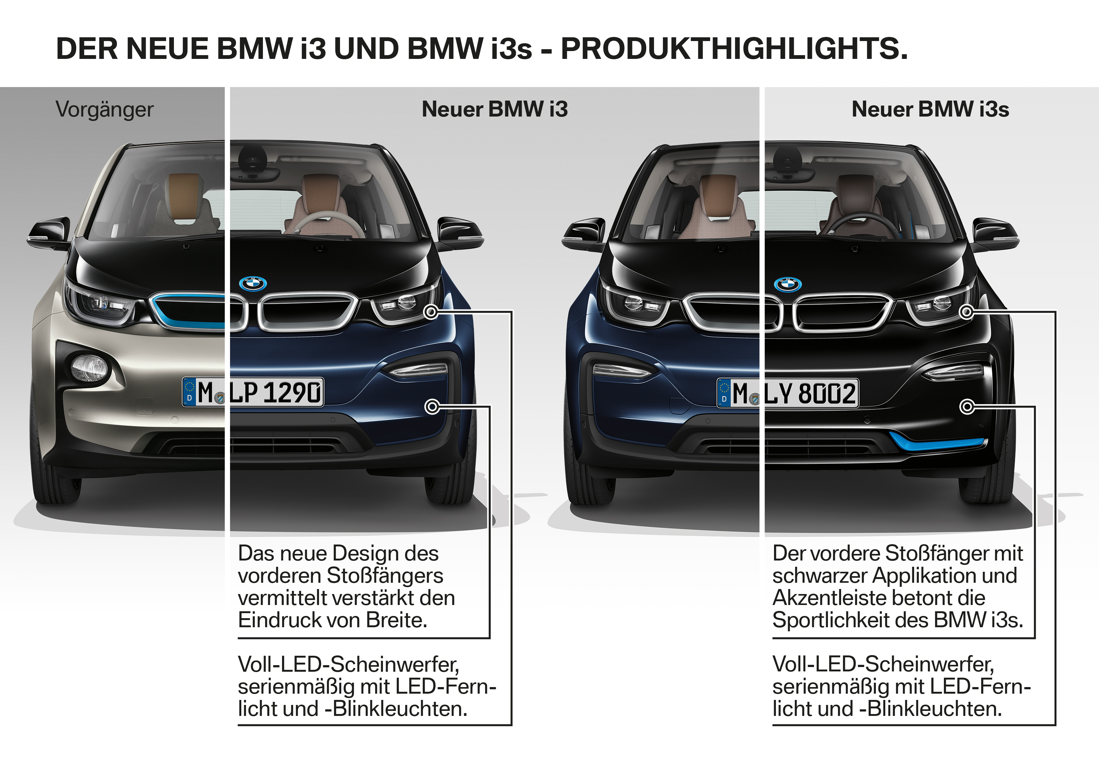 2018 Bmw I3 Unveiled With Small Design Refresh And New Sport Package