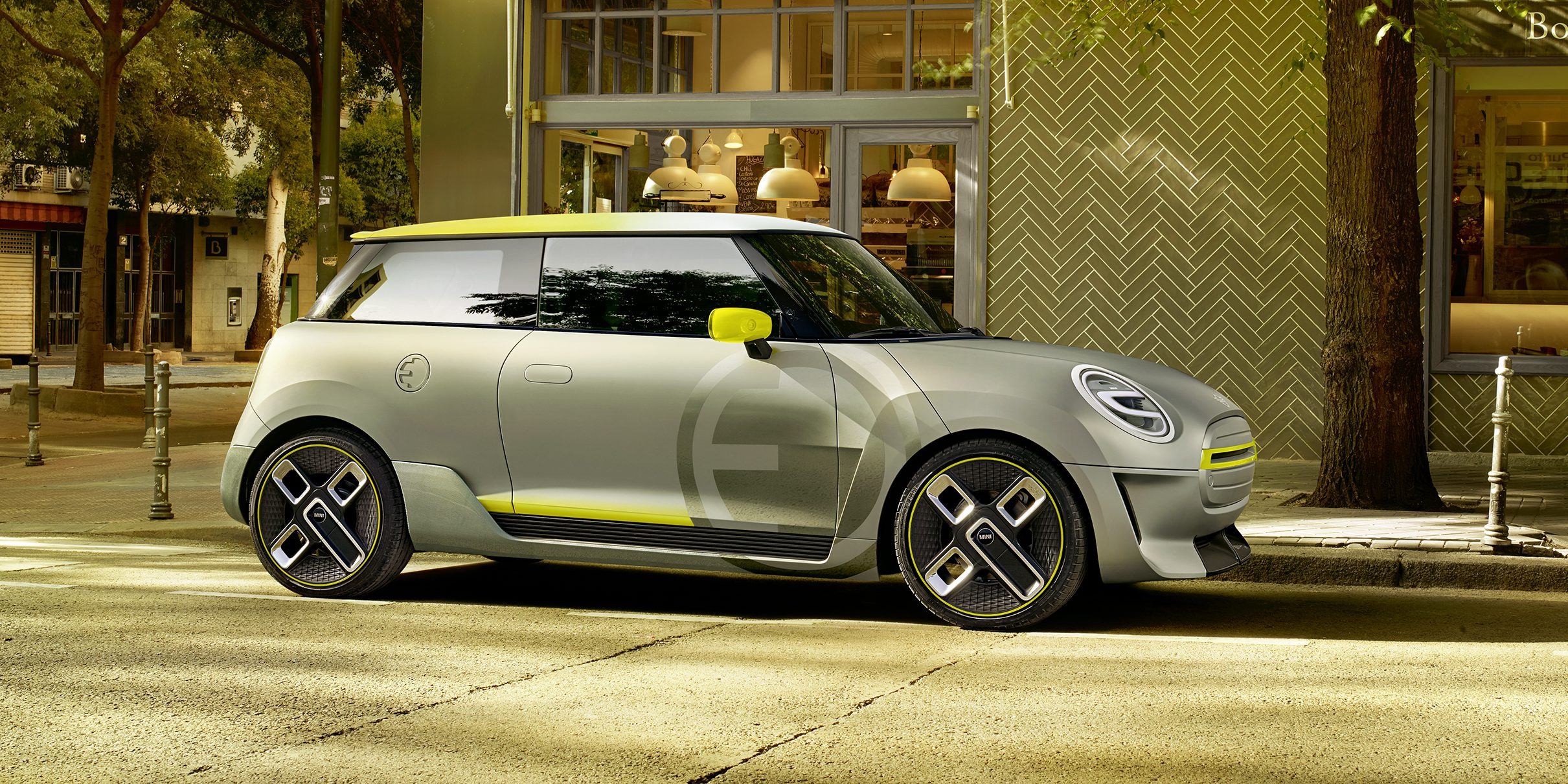 BMW unveils first production design features of the upcoming electric Mini