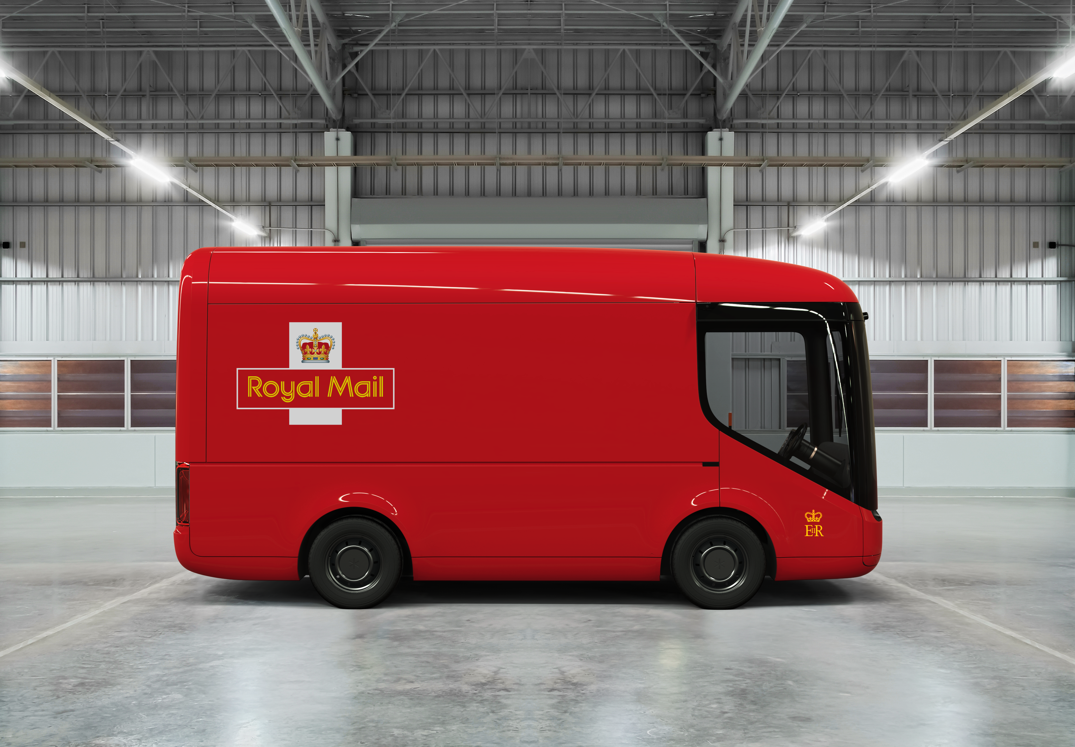 Royal Mail Unveils New Electric Truck Made By Arrival