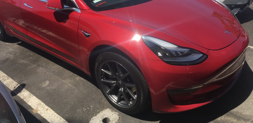 Tesla Model 3's aero wheels look awesome without their ...