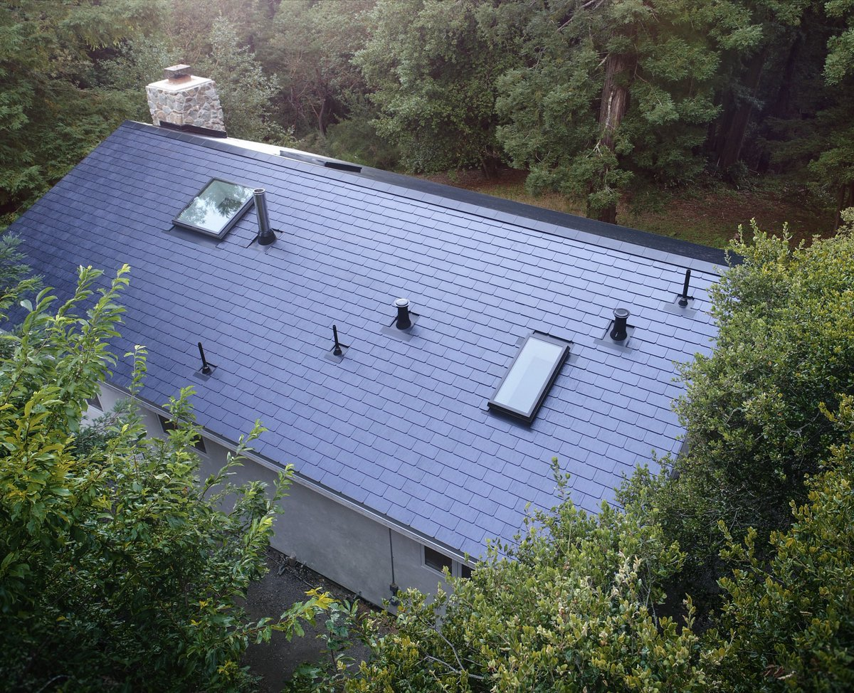 Tesla starts solar roof installations at home of CEO Elon Musk and