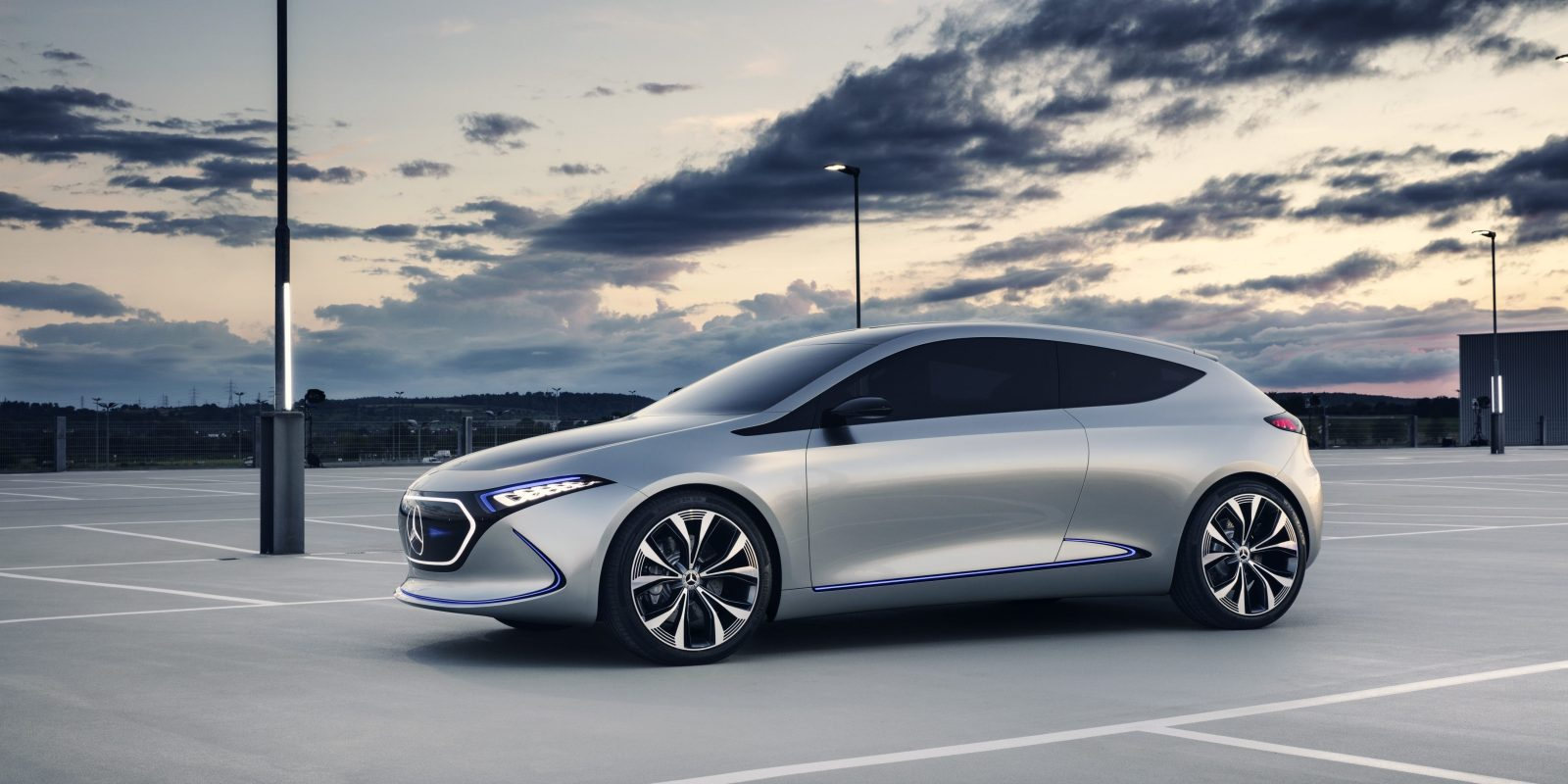 Mercedes Benz Invests 600 Million To Produce New Compact Electric Car At Factory In France