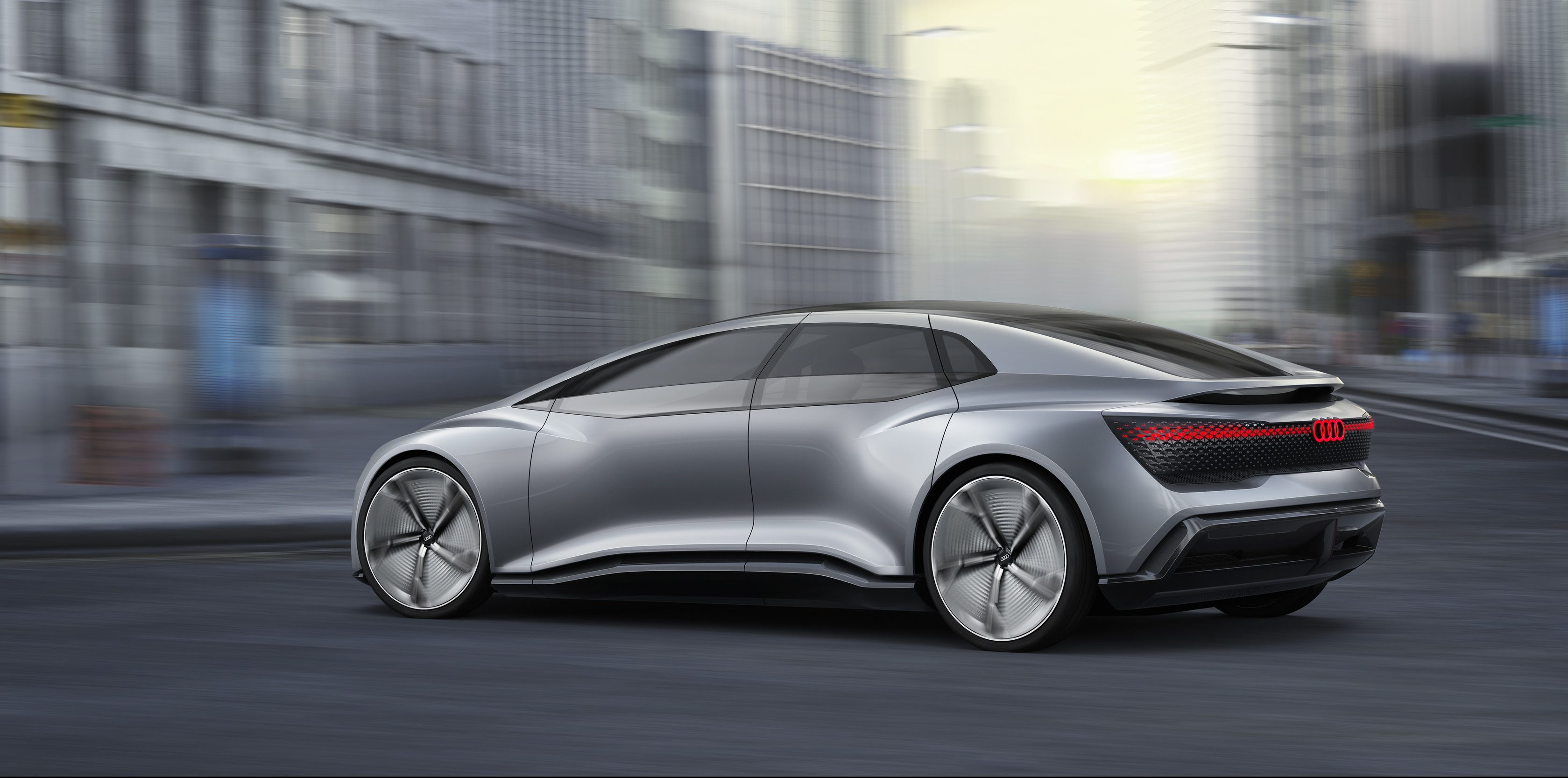 Audi Unveils New All Electric Autonomous Car Concept With U0027up To 500 Milesu0027  Of Range