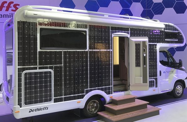 Electric motorhomes are coming: a new RV powered by solar