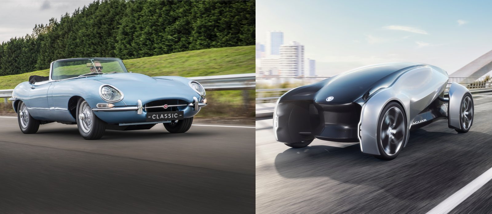 Jaguar Will Add Electric Trains To All New Cars By 2020 Unveils E Type And 2040 Concept