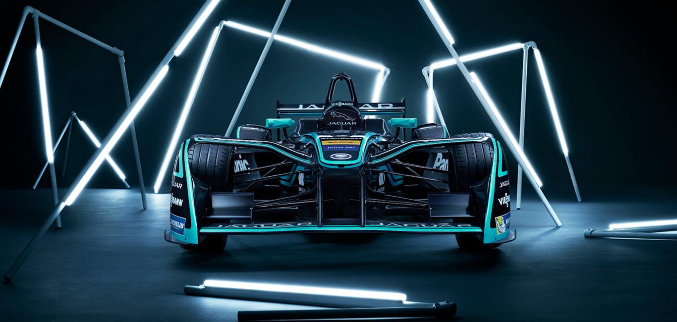 Jaguar unveils new all-electric Formula E race car