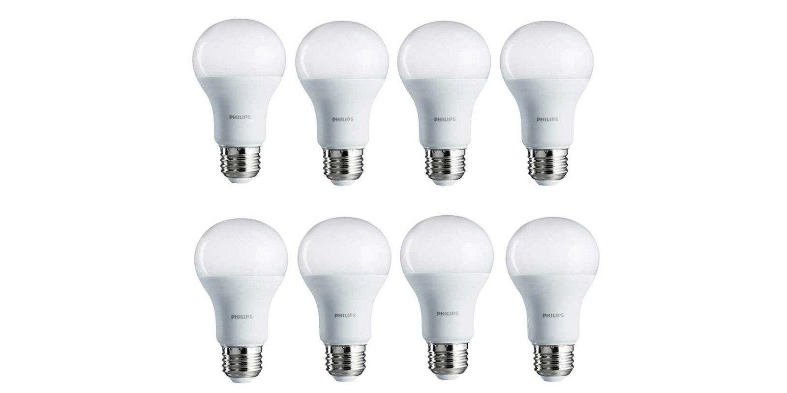 Green Deals: 8-pack Philips 100W LED A19 Light Bulbs $30, more ...