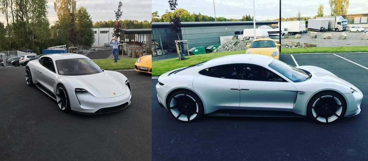 Close look at Porsche's latest all-electric Mission E prototype and more details