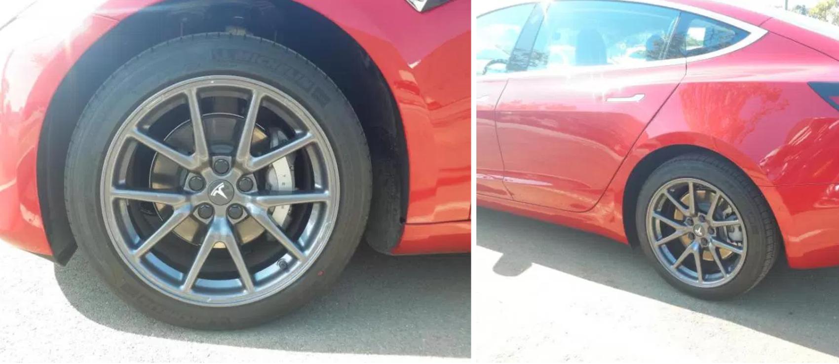 Here's how easy it is to make Tesla Model 3 wheels look ...