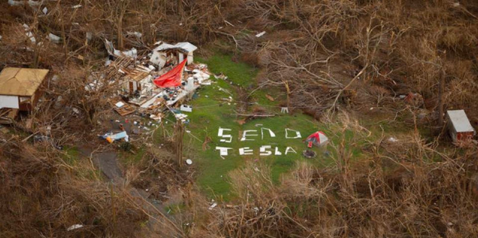 Tesla is sending hundreds of battery packs to power outage-ridden Puerto Rico
