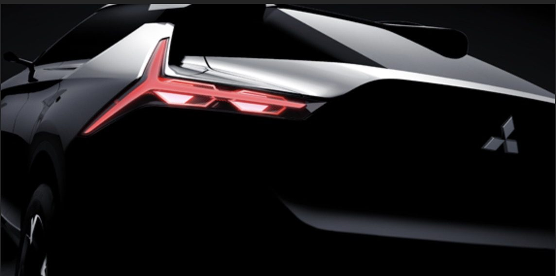 Mitsubishi releases first image of its upcoming electric 'e-Evolution' car