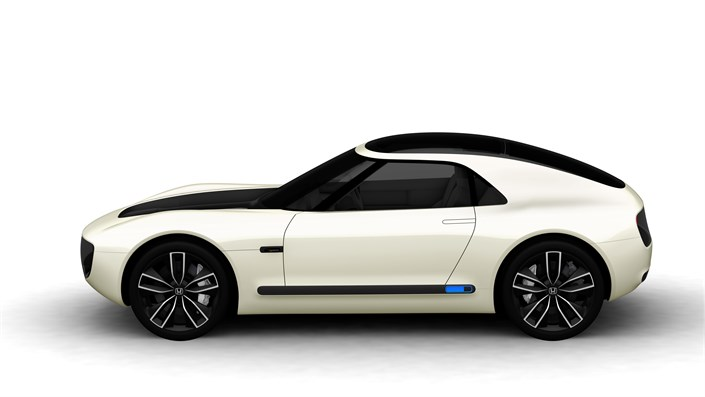 Honda Unveils All Electric Sports Car Concept Based On New Electric