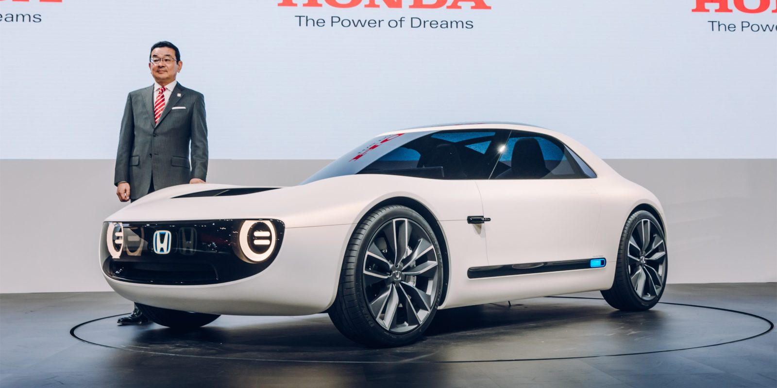 Honda Unveils All Electric Sports Car Concept Based On New Platform