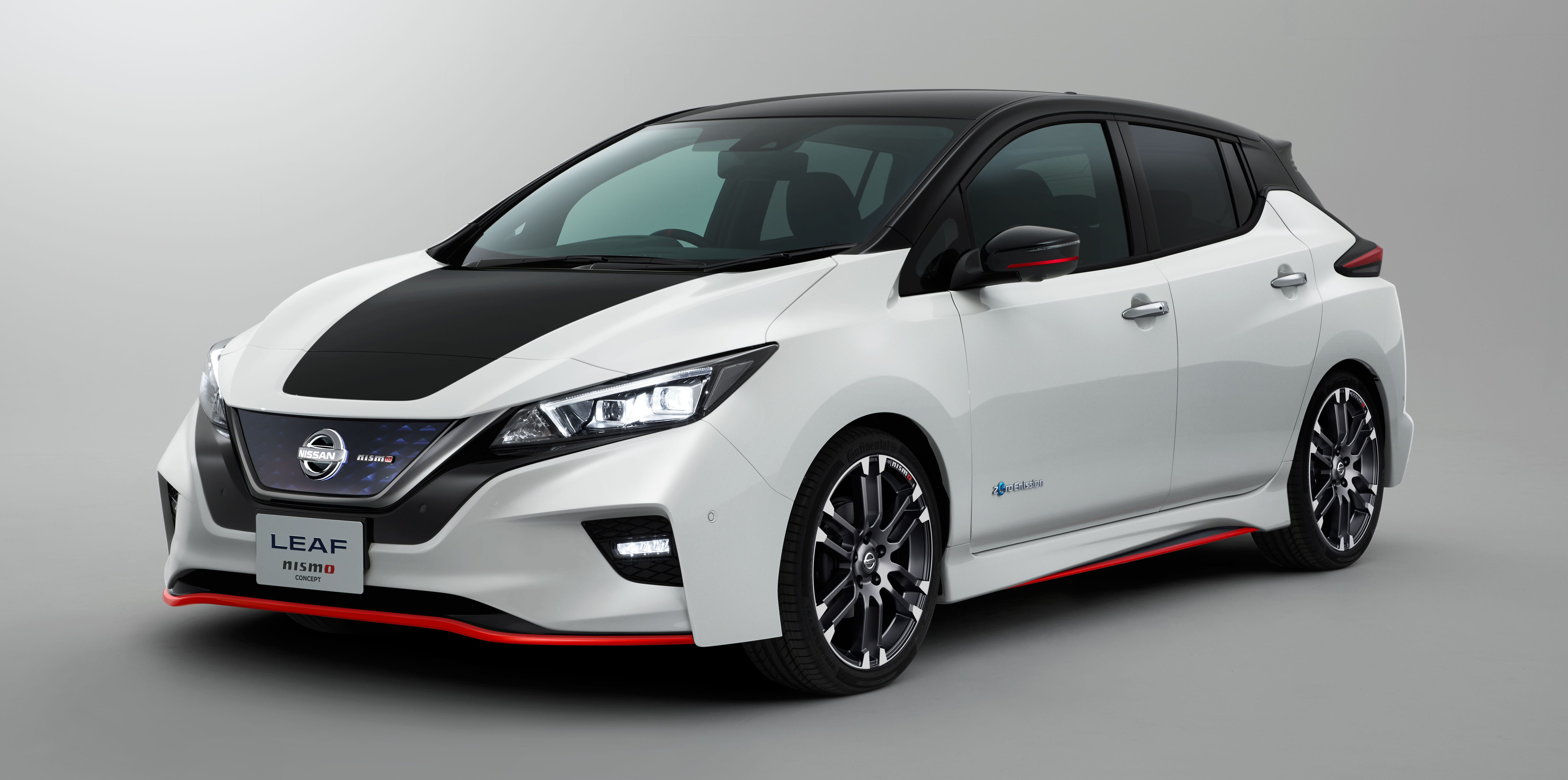 Nissan unveils sexier all-electric next-gen Leaf with Nismo upgrade