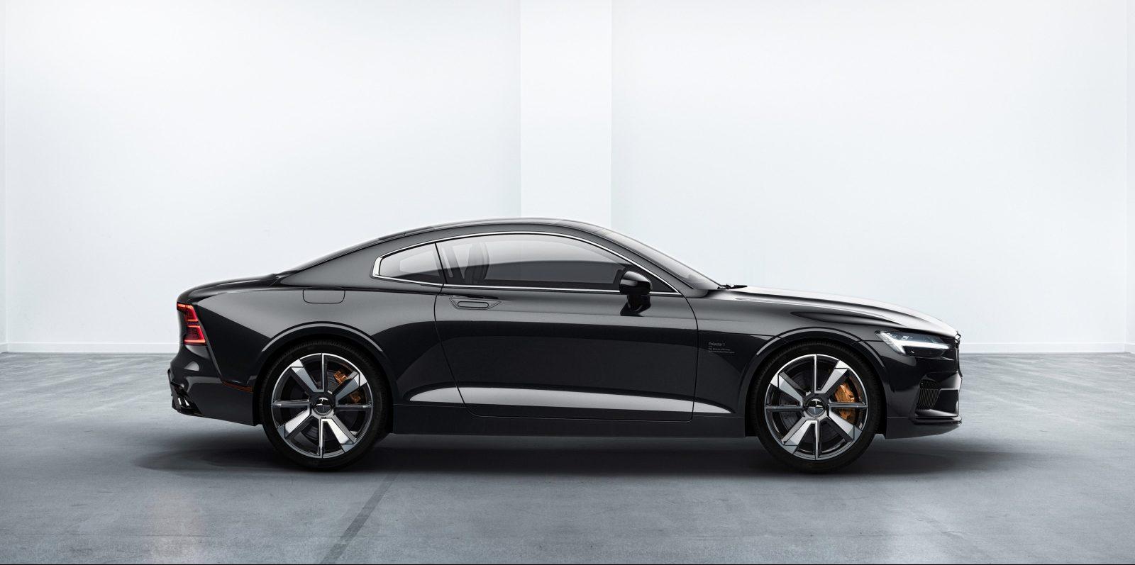 Volvo S Polestar Unveils Performance Electric Car Announces New Tesla Model 3 Compeor