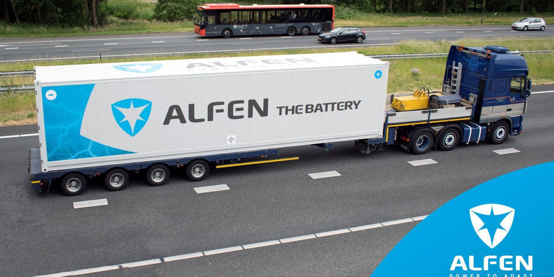 Smart shipping container offers power grid resilience with 'self healing' capability