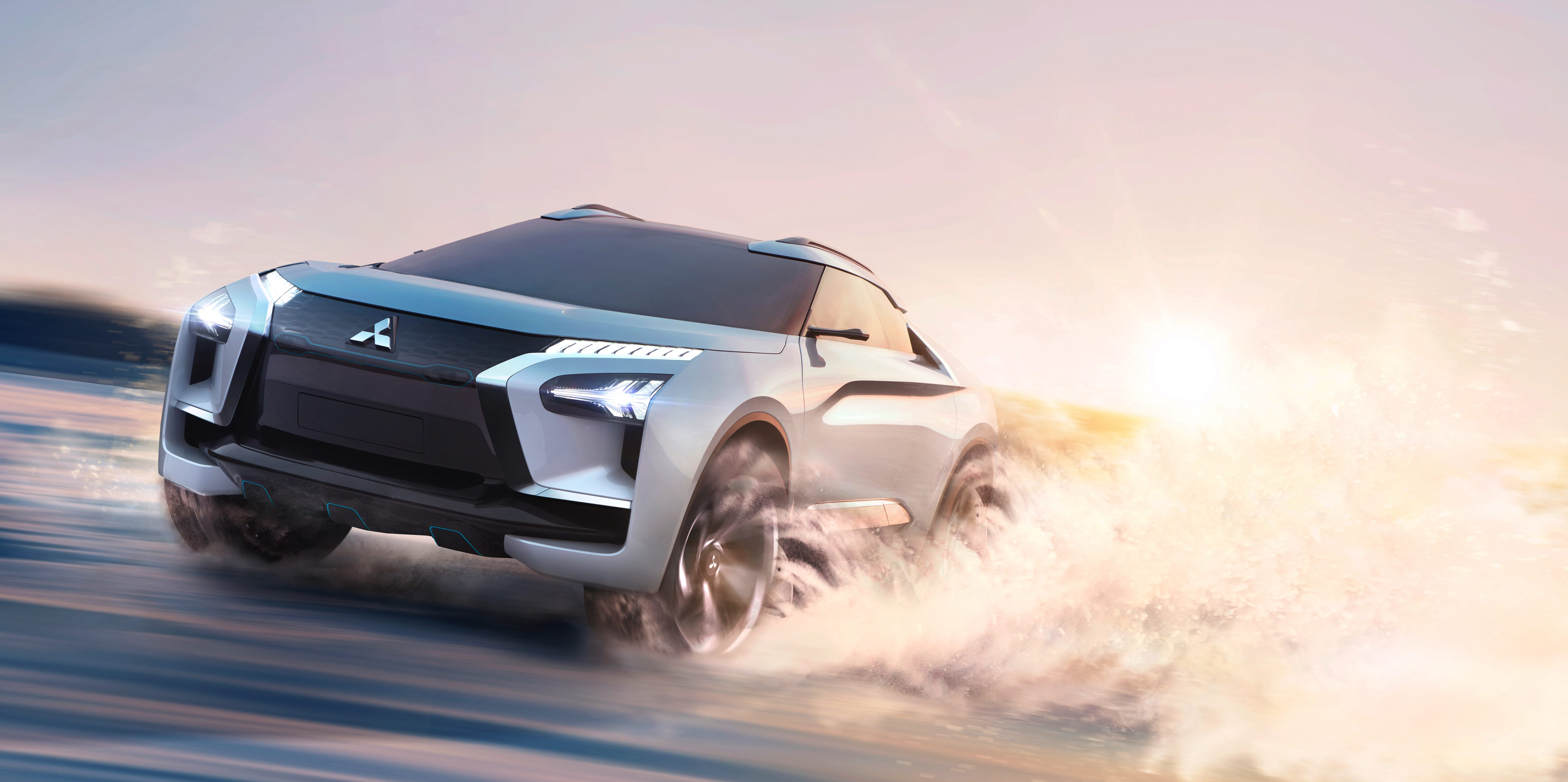 Mitsubishi unveils new all-electric E-Evolution, says it's 'beginning of the next chapter'