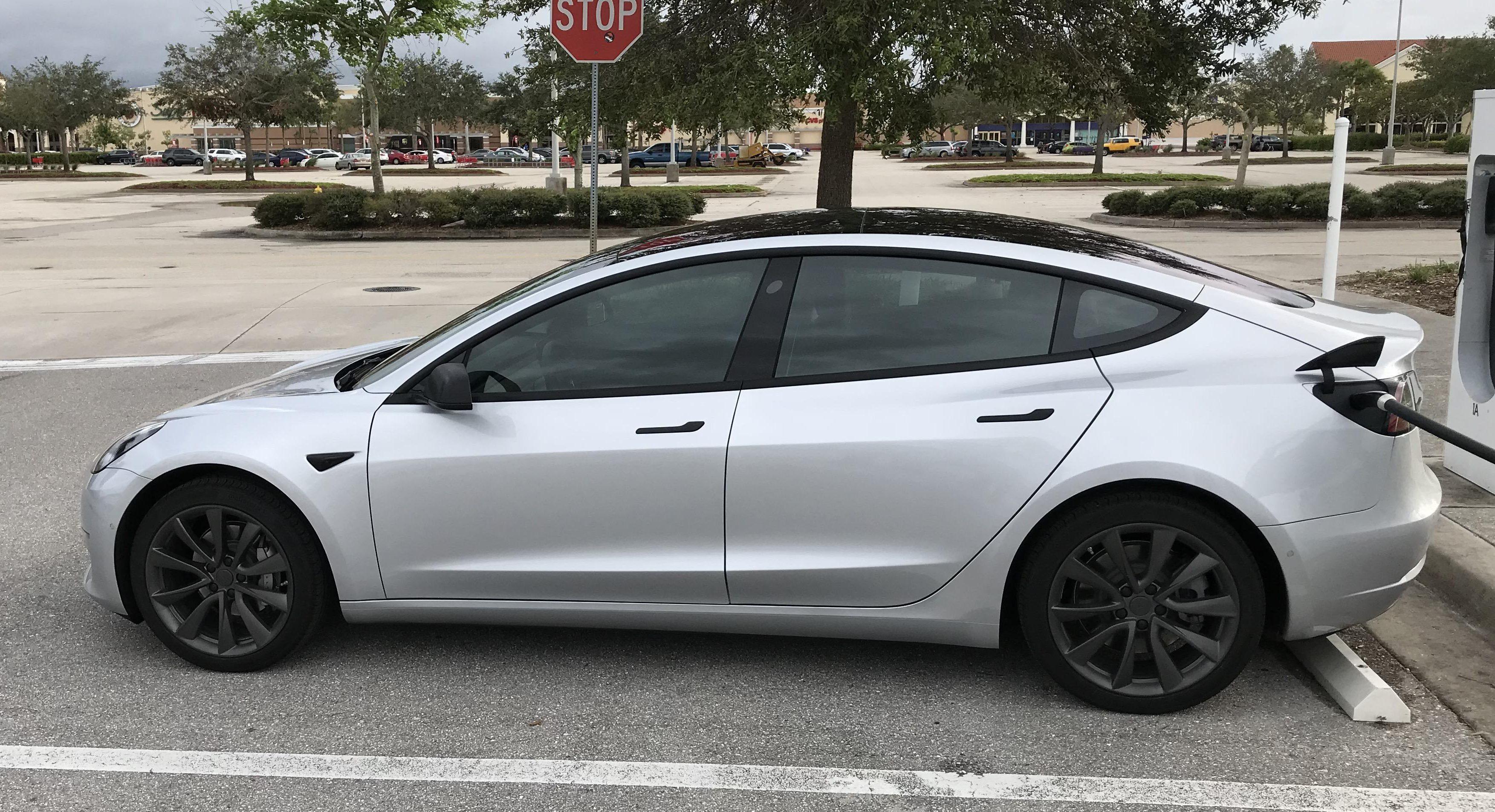 Tesla 3 delivery