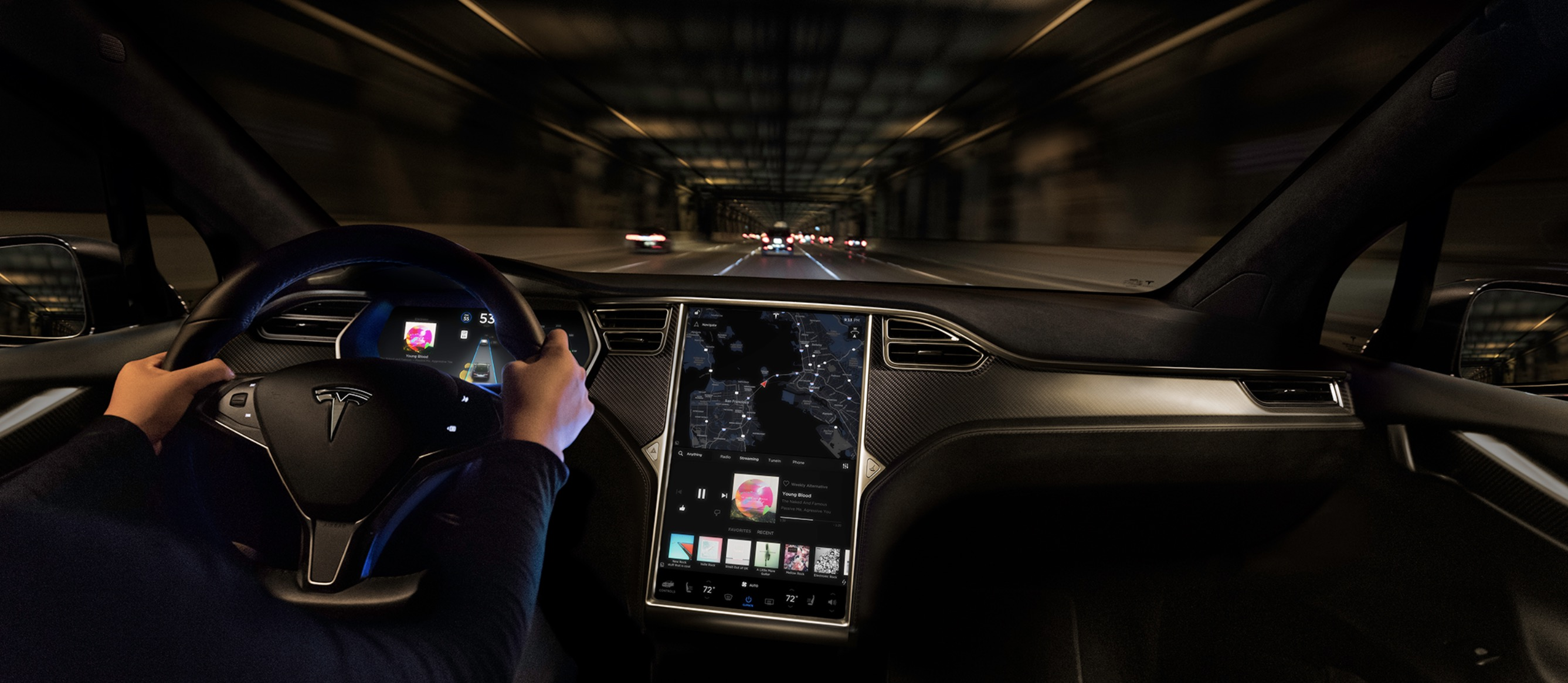 Tesla is introducing new paid 'premium connectivity' package to support in-car internet features of growing fleet