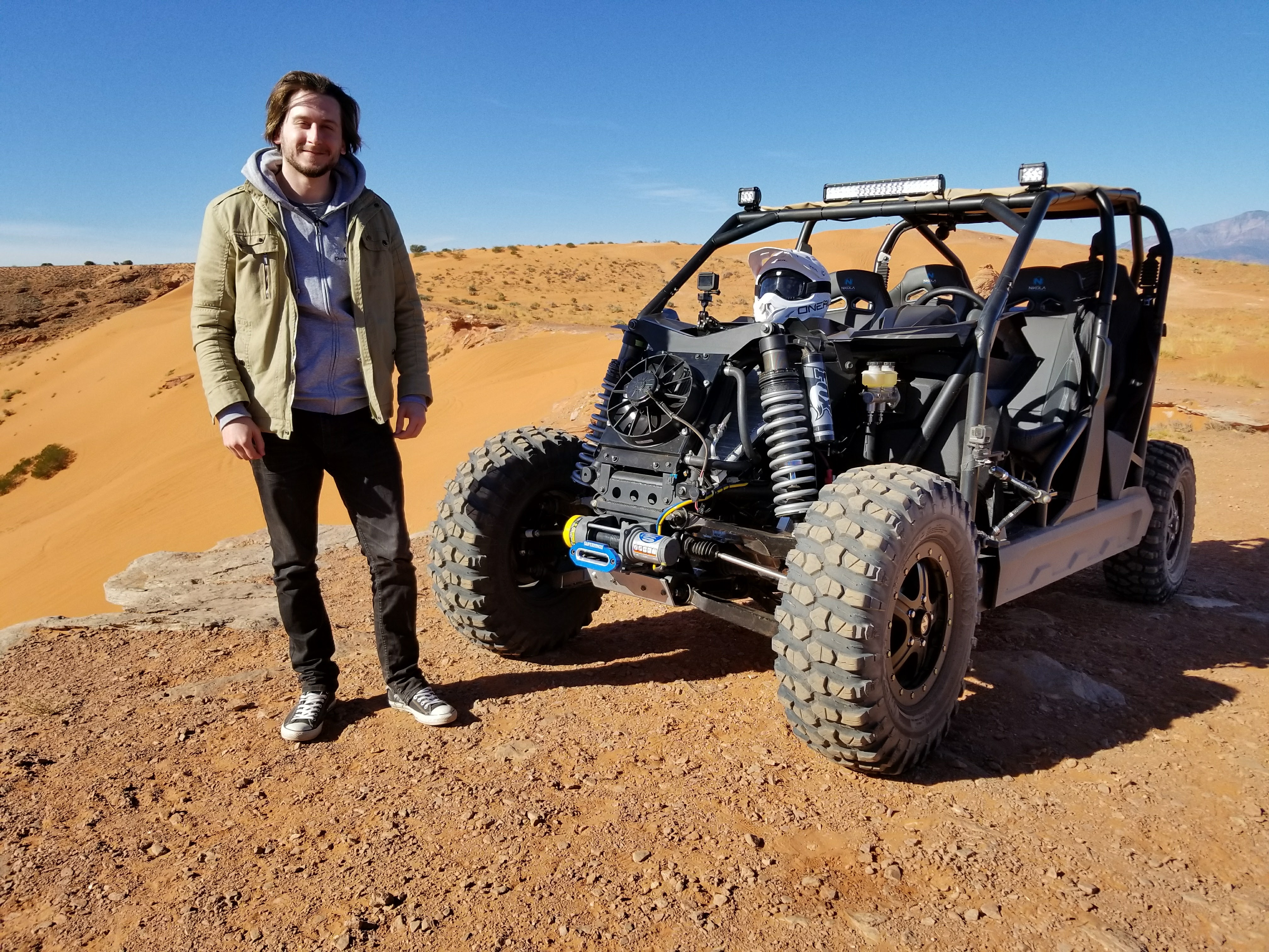 We tested an insane electric UTV with more energy capacity than even