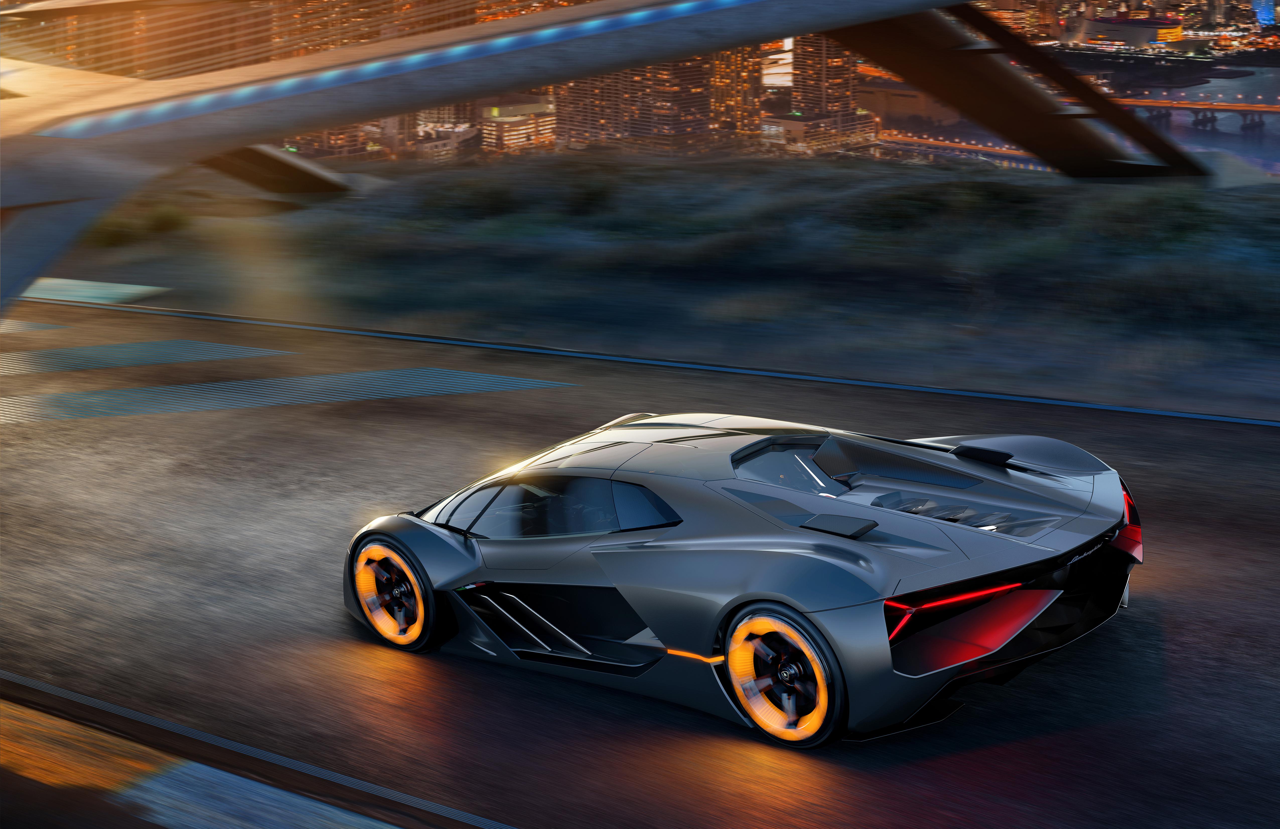 Lamborghini Unveils New Insane Looking Electric Supercar Concept