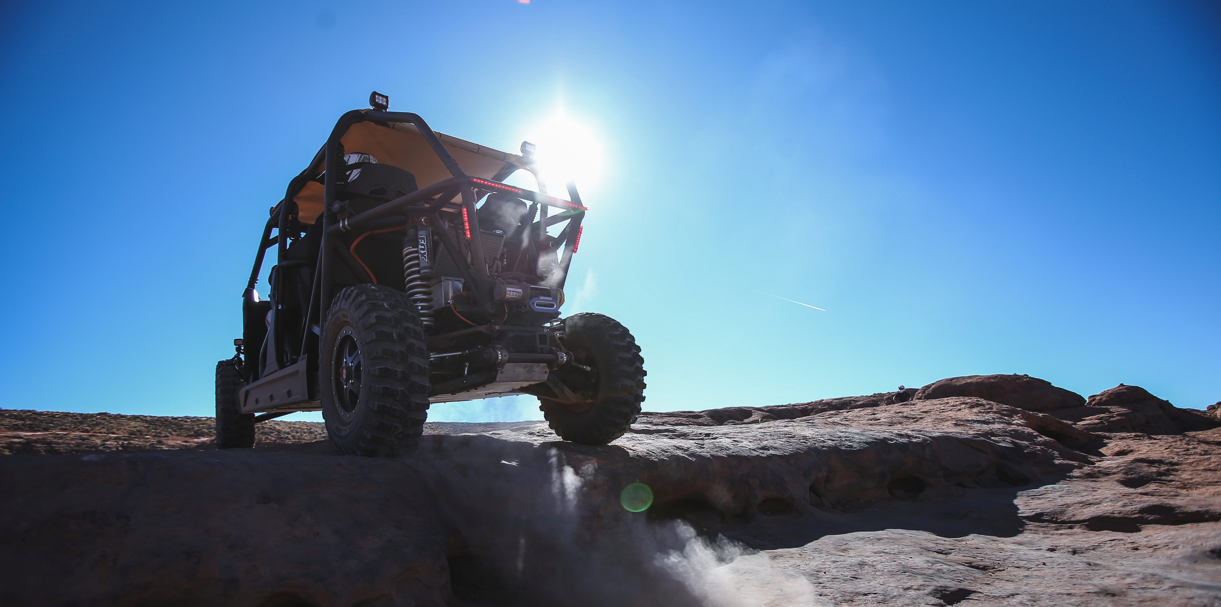 We tested an insane electric UTV with more energy capacity