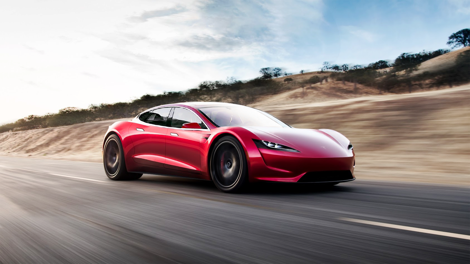 Tesla Roadster All Electric Hypercar S Sports Car