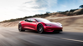 Tesla Roadster all-electric hypercar